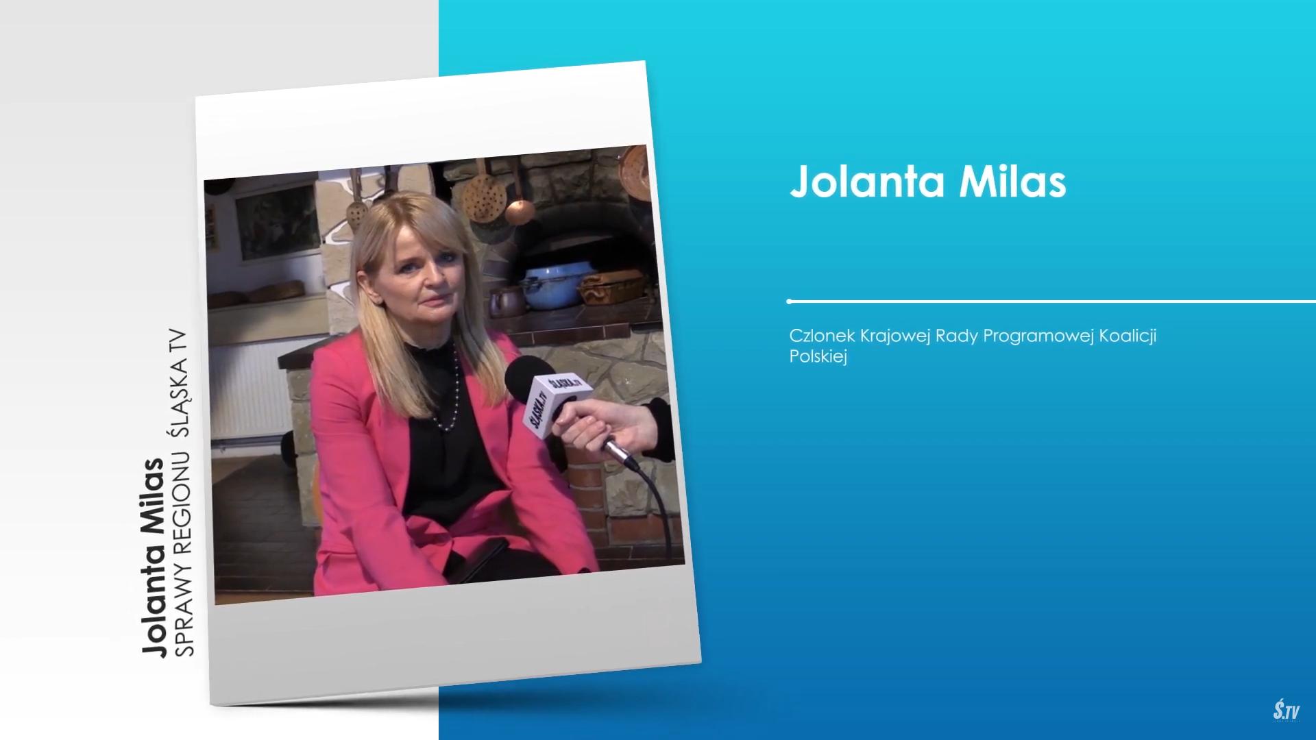 """,,Sprawy Regionu"""" – Jolanta Milas – Członek Krajowej Rady Programowej Koalicji Polskiej"""