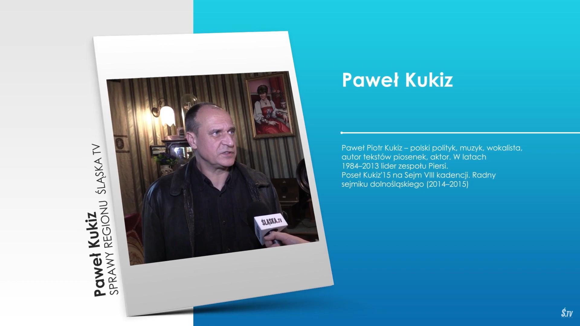 """,,Sprawy Regionu"""" – Paweł Kukiz popiera kandydaturę Kosiniaka-Kamysza na Prezydenta"""