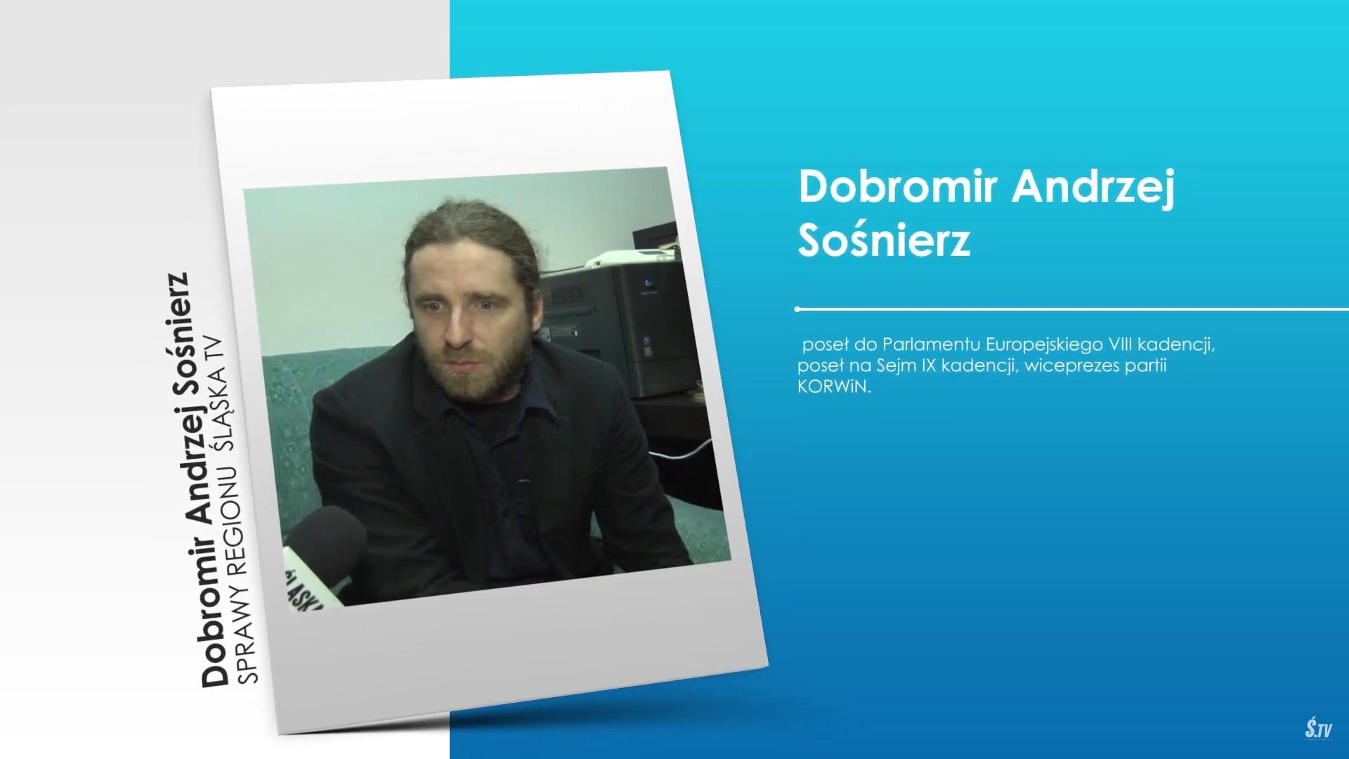 Sprawy Regionu:  Dobromir Sośnierz o koronawirusie i rządach PiS-u