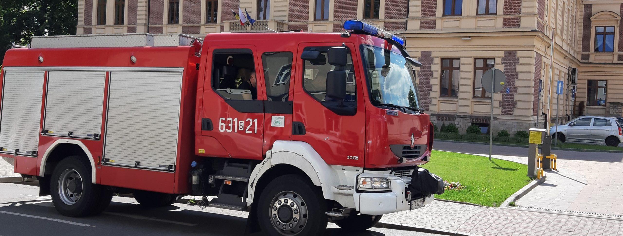 Alarm bombowy w urzędzie miasta