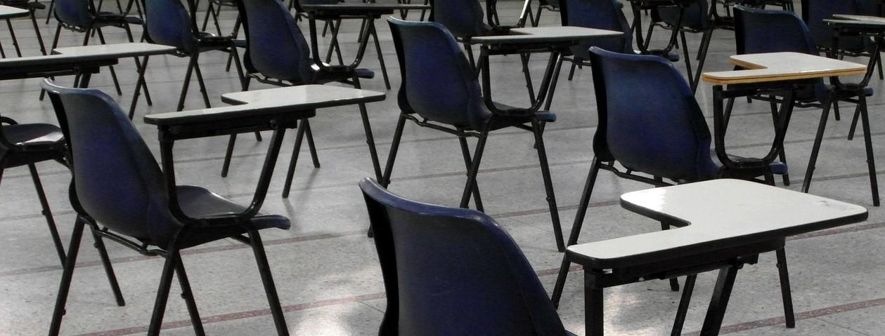 Ósmoklasiści przed testem