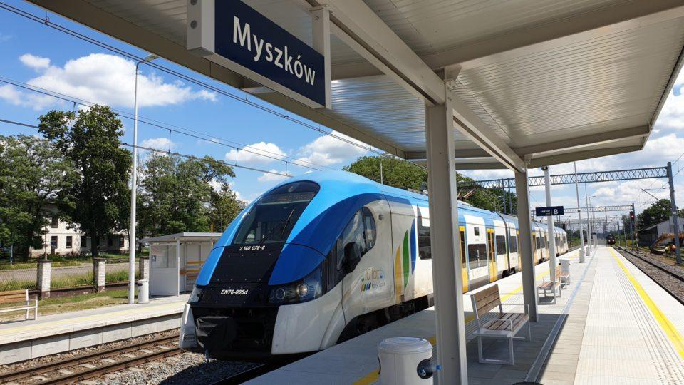 Coraz lepsze podróże koleją z Częstochowy do Zawiercia