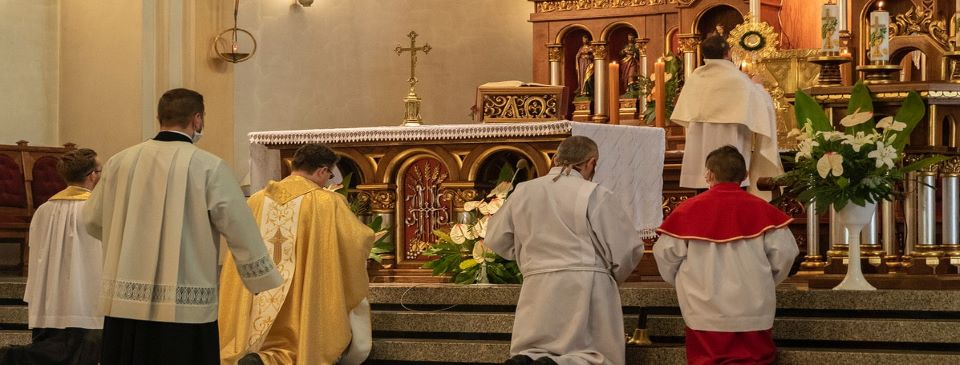 Kościół zamknięty i księża na kwarantannie