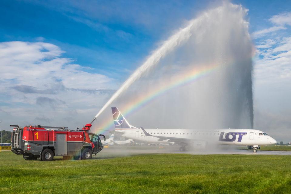 POLSKIE LINIE LOTNICZE LOT WYSTARTOWAŁY Z WAKACYJNĄ SIATKĄ POŁĄCZEŃ REGULARNYCH Z KATOWICE AIRPORT