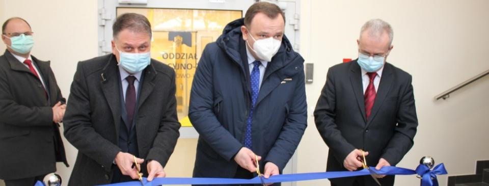 Szpital Śląski w Cieszynie otwiera nowy obiekt – kompleks leczenia chorób zakaźnych ichorób płuc