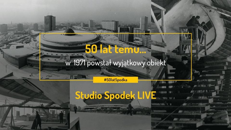 Katowicki Spodek ma 50 lat