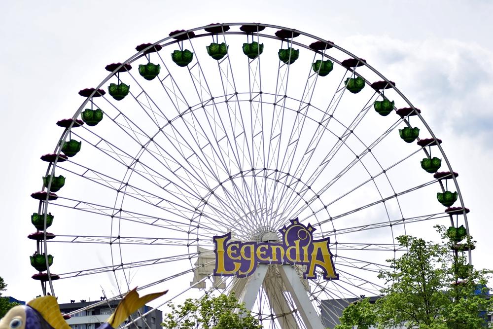 Legendia otwarta dla zwiedzających