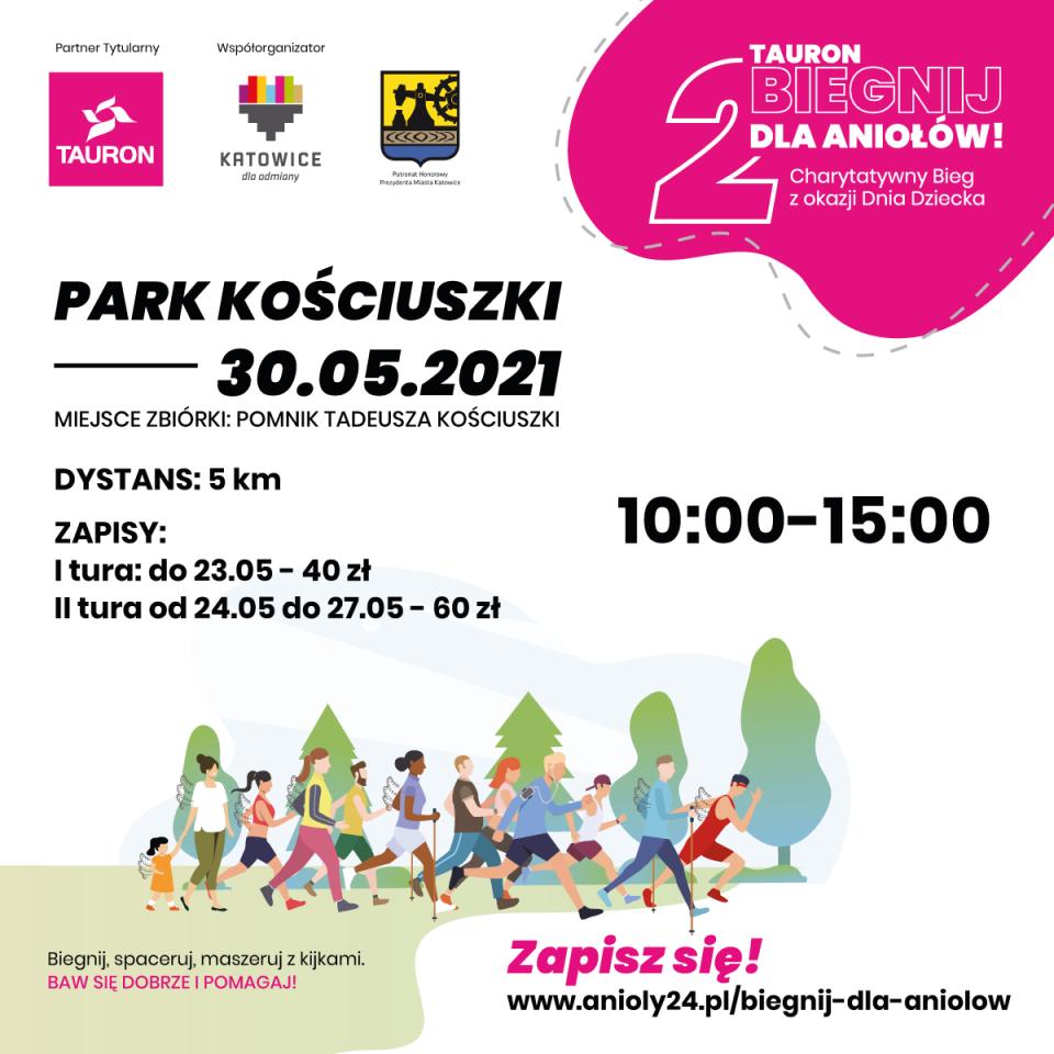Wyjątkowy bieg w sercu Katowic