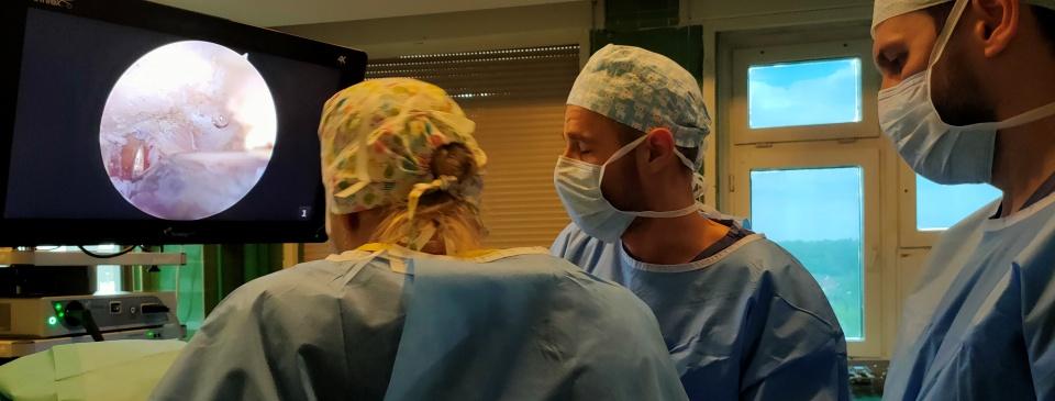 Pierwsze nowoczesne artroskopie stawu barkowego w Szpitalu Megrez w Tychach