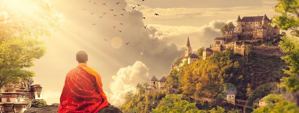 """""""Buddyjski mnich i legenda niebieskiej, boskiej czakry"""" – część 9."""