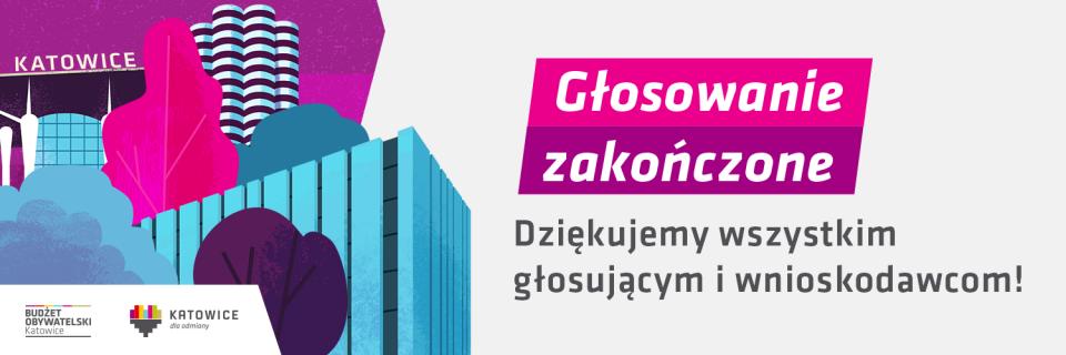 Znamy wyniki VIII edycji Budżetu Obywatelskiego w Katowicach
